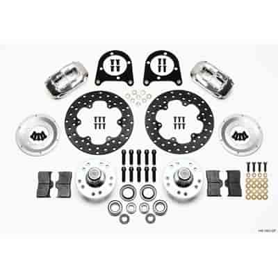 Wilwood 140-1501-DP - Wilwood Forged Dynalite Front Drag Brake Kits