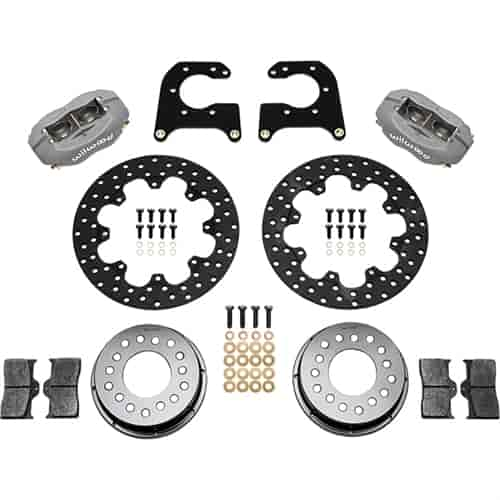 Wilwood 140-2119-BD - Wilwood Dynalite Rear Brake Kits
