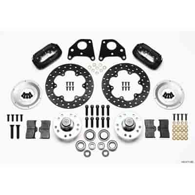 Wilwood 140-2711-BD - Wilwood Forged Dynalite Front Drag Brake Kits