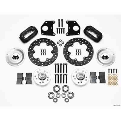 Wilwood 140-2712-BD - Wilwood Forged Dynalite Front Drag Brake Kits