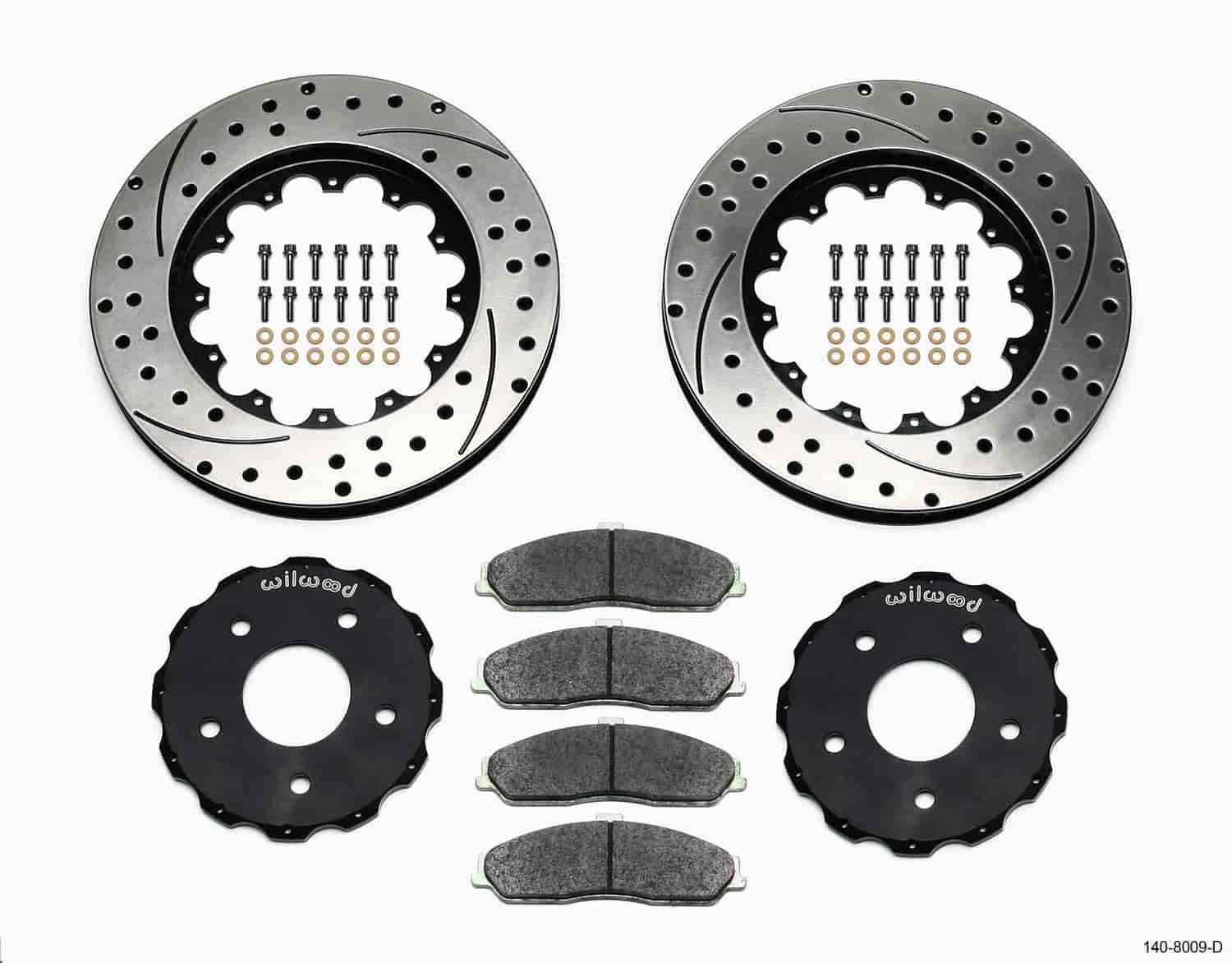 Wilwood 140-8443-D - Wilwood ProMatrix Brake Rotor Upgrade Kits