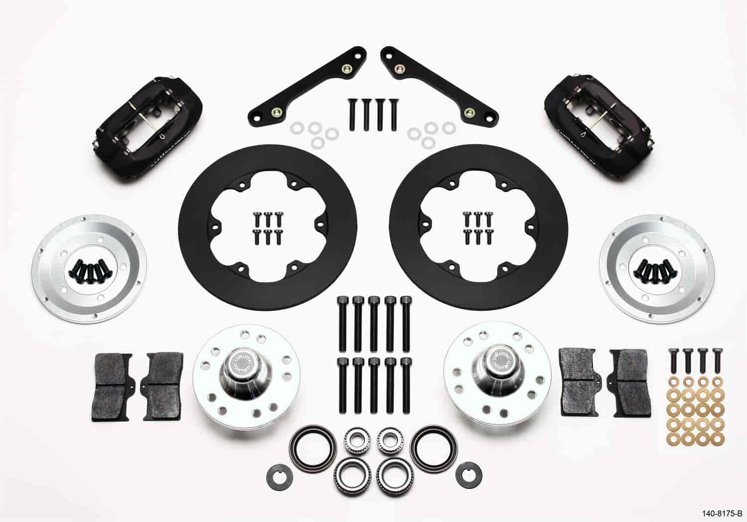 Wilwood 140-8175-B - Wilwood Forged Dynalite Front Drag Brake Kits