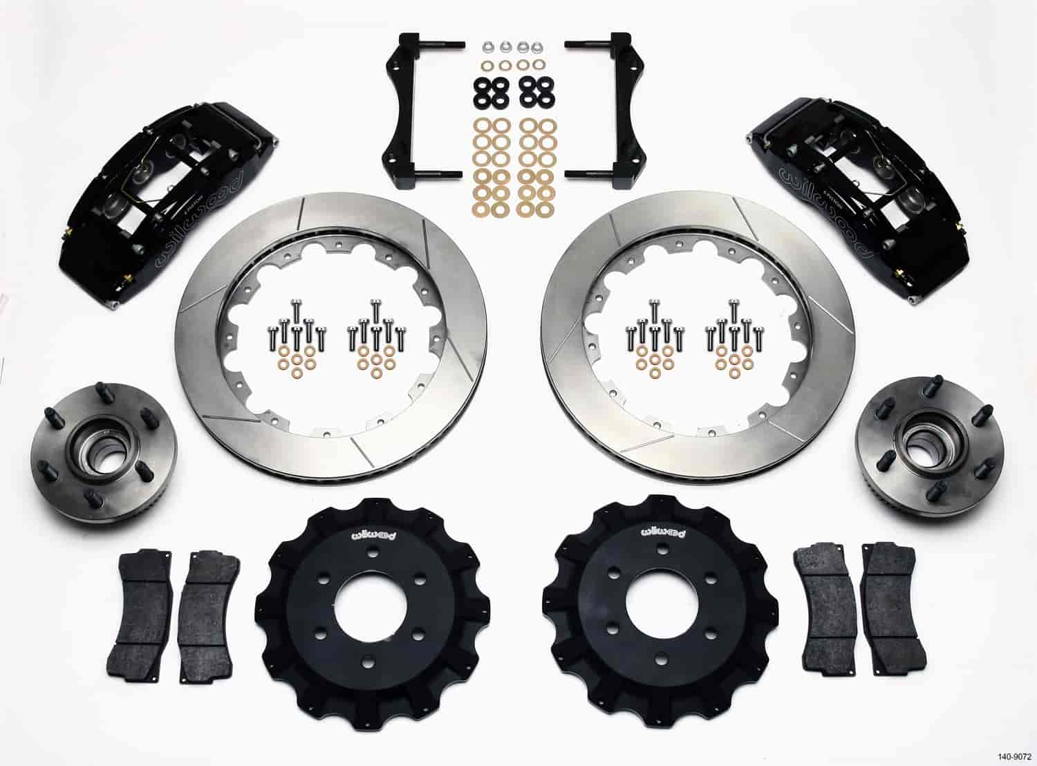 Wilwood 140-9072 - Wilwood TC6R Big Brake Truck Front Brake Kit