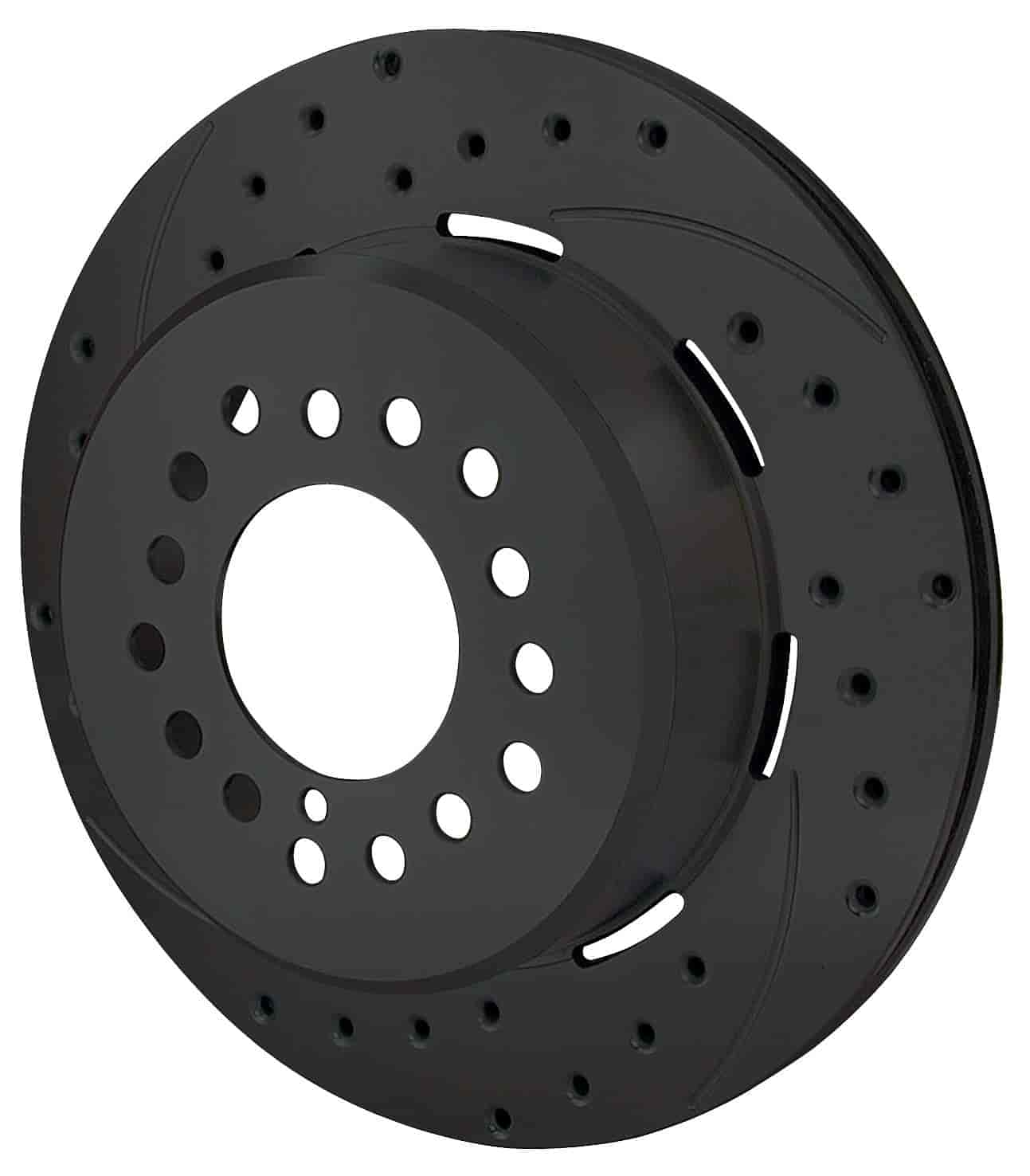 Wilwood 160-9812-BK - Wilwood Steel Rotors