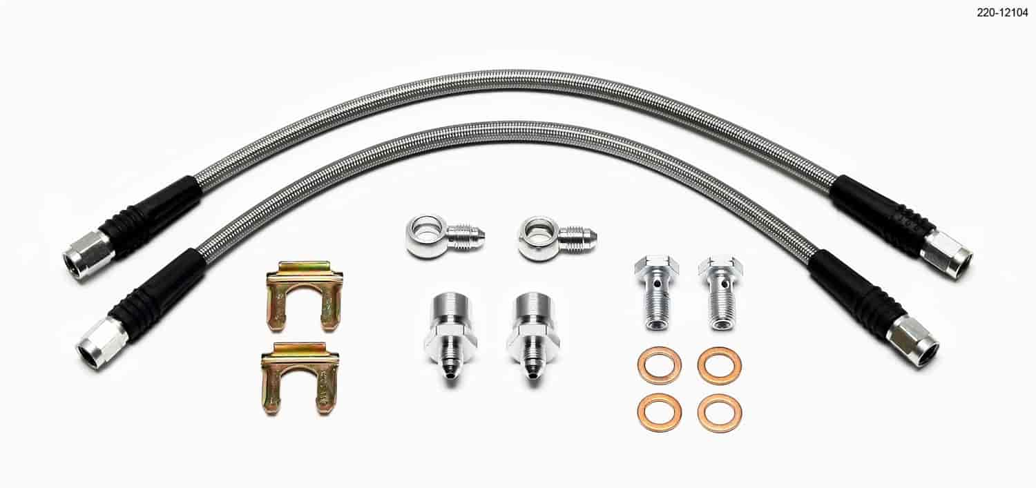 Wilwood 220-12104 - Wilwood Brake Flexline Kits