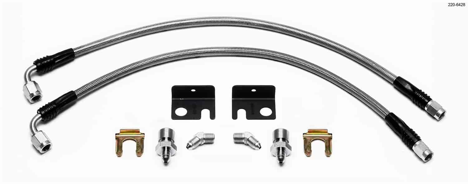 Wilwood 220-6428 - Wilwood Brake Flexline Kits