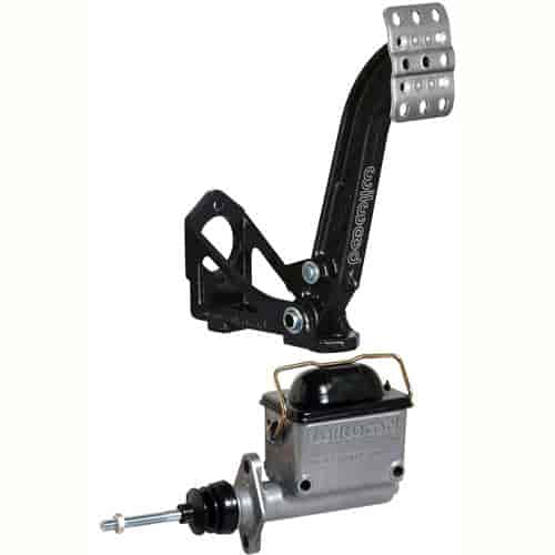 Wilwood Brake or Clutch Pedal and Master Cylinder Kit Includes: Floor Mount  Clutch/Brake Pedal Assembly