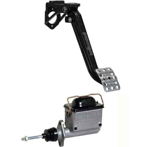 Swing Mount Single Master Cylinder Wilwood 340-13834 Brake Pedal