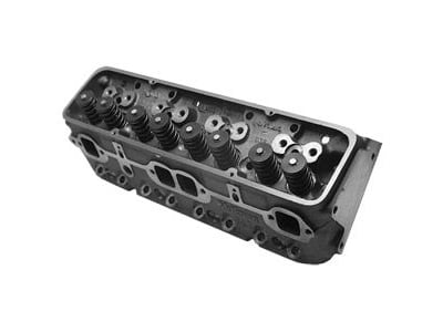 World Products 014150-3 - World Products Small Block Chevy Motown 220 Cast Iron Cylinder Heads