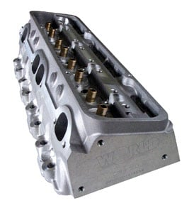 World Products 024015-2 - World Products SB-Chevy Motown 23� 215cc & 235cc Aluminum Cylinder Heads