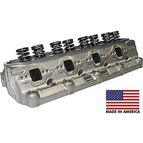 World Products 053030-1 - World Products Small Block Ford Windsor Jr Cast Iron Cylinder Heads