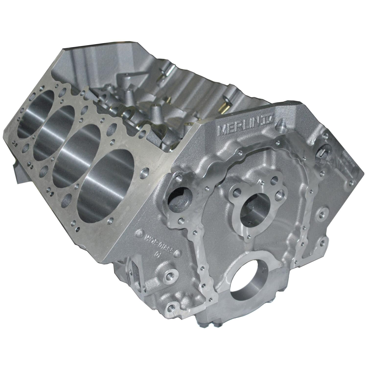 World Products Merlin IV Big Block Chevy Engine Block 4 495 Bore 10 200  Tall Deck Cast Iron