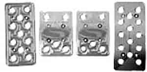 Steeda 555-1151 - Steeda Billet Pedal Covers