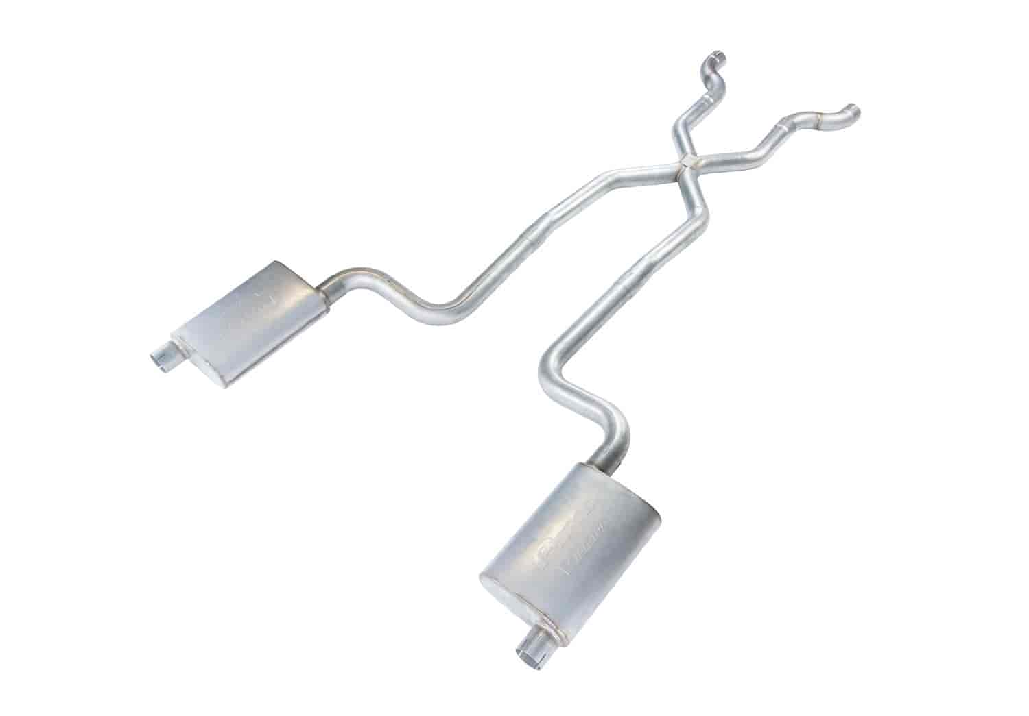 Pypes Performance Exhaust Race-Pro Crossmember-Back Exhaust System 1968-74  C3 Corvette