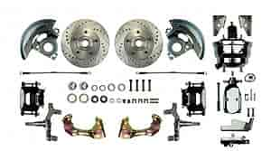 Right Stuff TDC6016 - Right Stuff Front Disc Brake Conversion Kits