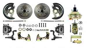 Right Stuff AFXDC03C - Right Stuff Front Disc Brake Conversion Kits