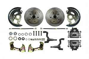 Right Stuff AFXWK02C - Right Stuff Front Disc Brake Conversion Kits