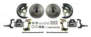 Right Stuff AFXWK03C - Right Stuff Front Disc Brake Conversion Kits