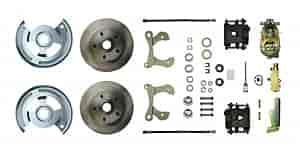 Right Stuff FSC59SDC - Right Stuff Front Disc Brake Conversion Kits
