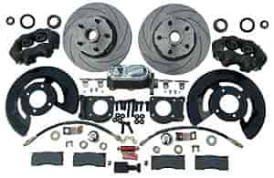 Right Stuff ZSD6708 - Right Stuff Front Disc Brake Conversion Kits