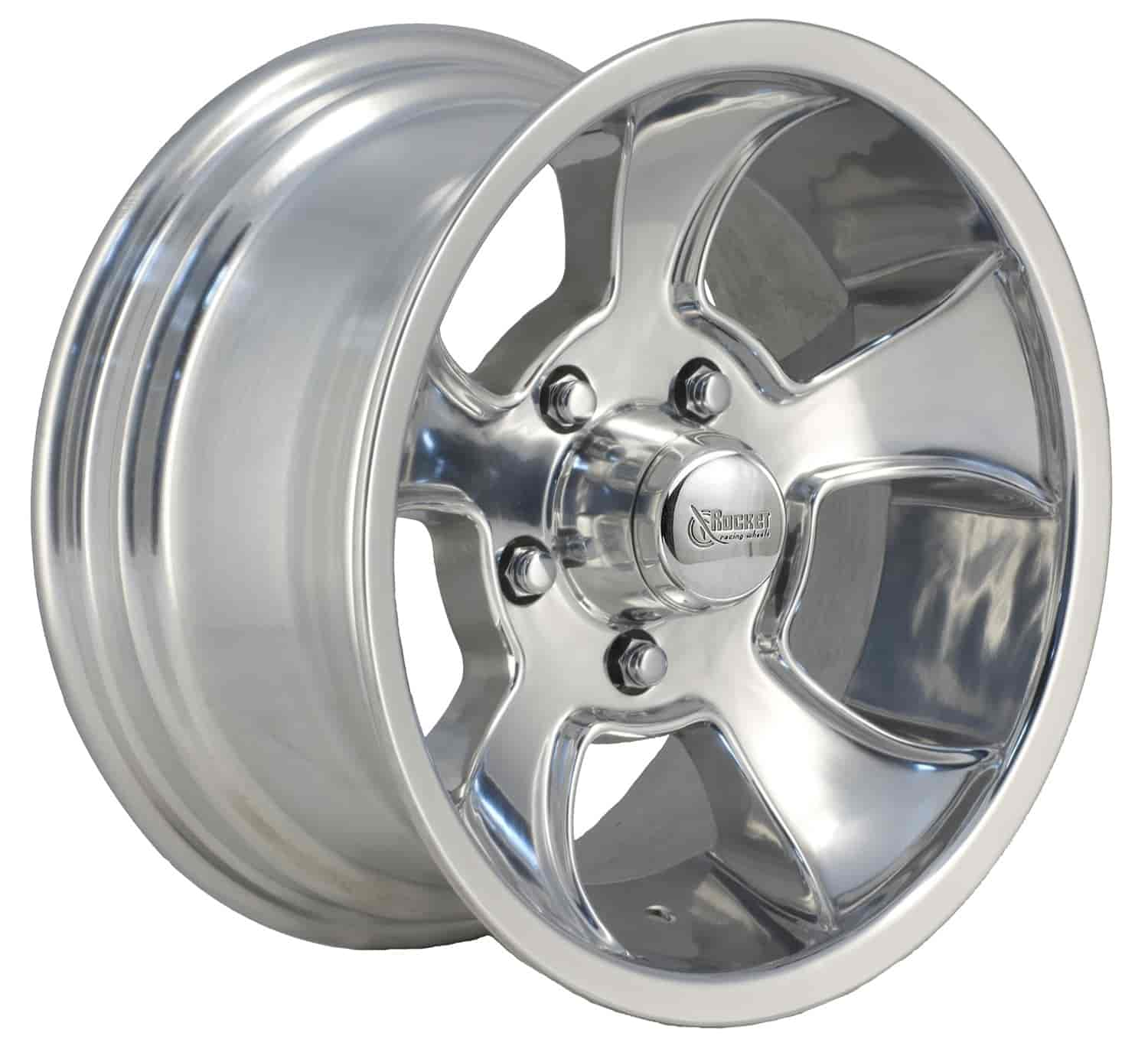 Rocket Wheels #R61-588537 - Rocket Racing Injector Polished Wheels