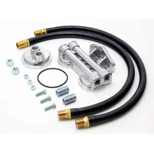 Trans Dapt 1222 - Trans Dapt Remote Oil Filter Relocation Kits