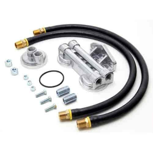 Trans Dapt 1227 - Trans Dapt Remote Oil Filter Relocation Kits