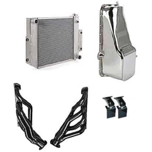 Trans Dapt Engine Swap Kit Small Block Chevy/Big Block Chevy V8 or 4 3L V6  into Jeep CJ Series