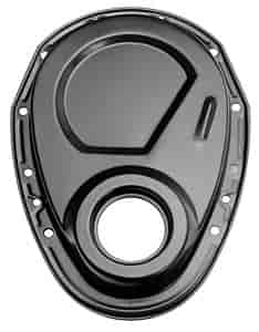 Trans Dapt 8636 - Trans Dapt Powder Coated Timing Chain Covers