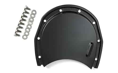 Trans Dapt 8639 - Trans Dapt Powder Coated Timing Chain Covers