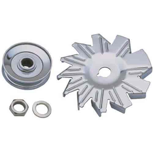 Trans Dapt 9446 - Trans Dapt Alternator Pulley & Fan Kits