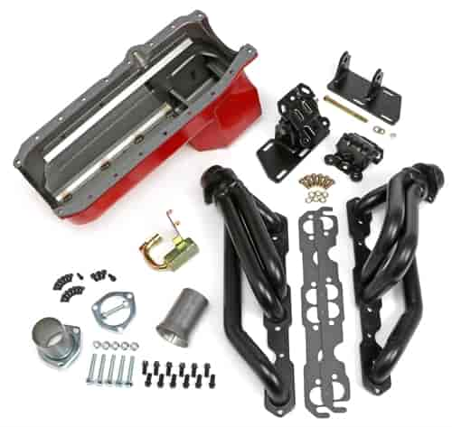 Trans Dapt 99071: S10/V8 Engine Swap-in-a-Box Kit | JEGS