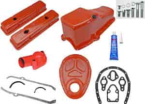 Trans Dapt 9916K - Trans Dapt Powdercoated Valve Covers