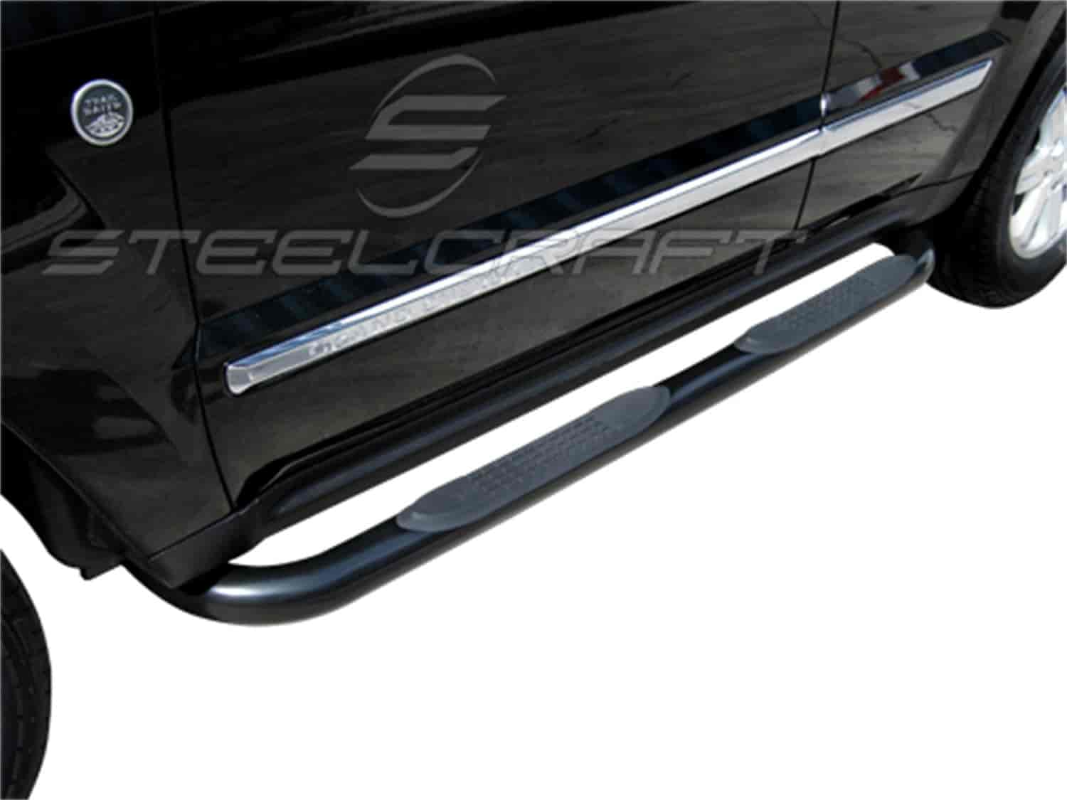 JEGS Performance Products 240900J - JEGS Black Powdercoated Nerf Bars