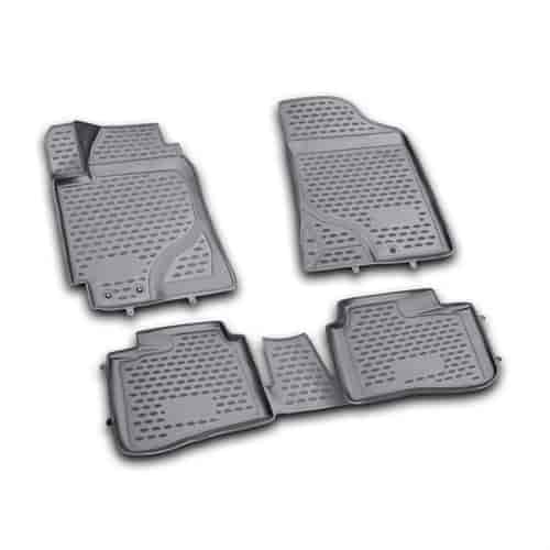 Westin 74 22 41017 Profile Floor Liners 4 Piece For 2010 2013 Kia Forte Jegs