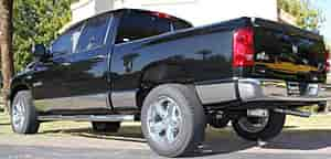 Willmore Manufacturing 754421D - Willmore Custom Fit Stainless Steel Rocker Panels