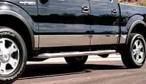 Willmore Manufacturing 756820D - Willmore Custom Fit Stainless Steel Rocker Panels