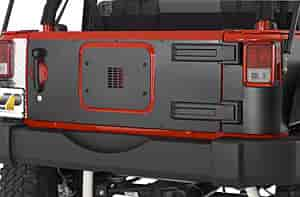 Warrior Products 920DPC - Warrior Products Jeep Tailgate Covers
