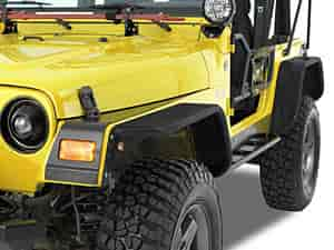Warrior Products S7321 - Warrior Products Tube Fender Flares