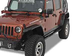 Warrior Products S7314 - Warrior Products Tube Fender Flares