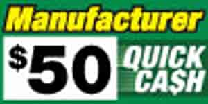 JEGS 720-50 - $50 Mr. Gasket Quick Cash to Use on Your Next Mr. Gasket Companies Purchase!