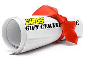 JEGS MEG20 - $20 JEGS Gift Certificate to Use on Your Next JEGS Purchase!