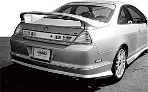 Wings West 591389-V26L - Wings West Rear Wings for Acura/Honda