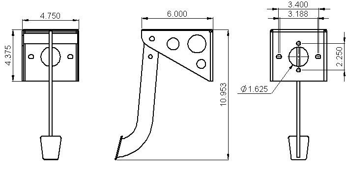 Jegspedalassembly jegs performance products 631080 brake pedal clutch pedal on jegs roll control wiring diagram