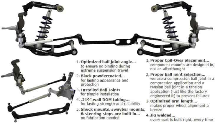 ridetech 4 link rear suspension