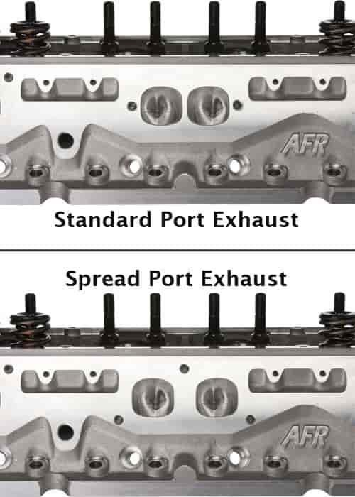 Air Flow Research Eliminator Comp Aluminum Cylinder Head SBC 2 pc P//N 1065