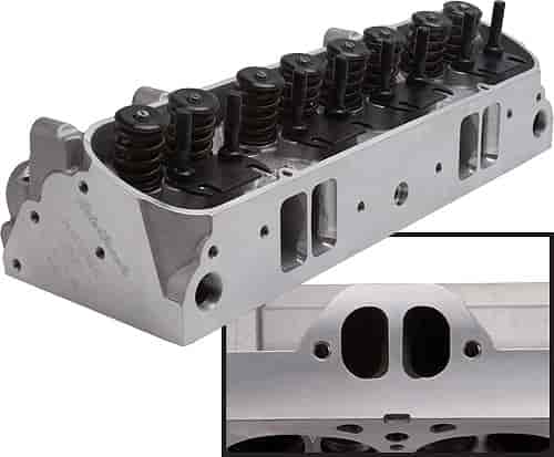 Edelbrock Performer D-Port Cylinder Head for Pontiac V8