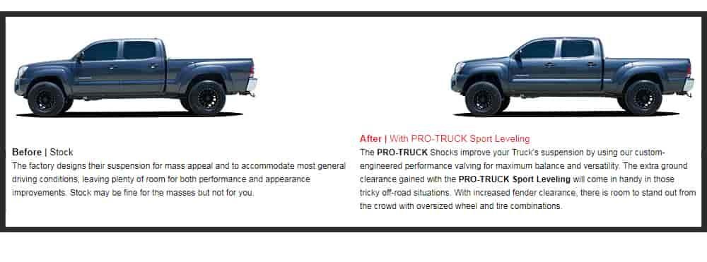 Eibach Pro-Truck Lift Kit for 2016-2018 Toyota Tacoma