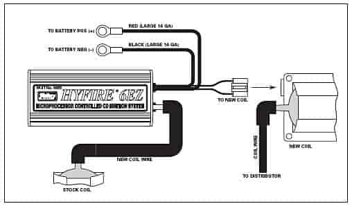 mallory ignition hyfire iv wiring diagram distributor ignition wiring diagram elsavadorla