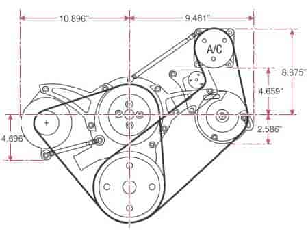 78 Ford F100 Belt Diagram
